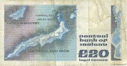 20 Pounds IRLANDE  1984 P.073b TB