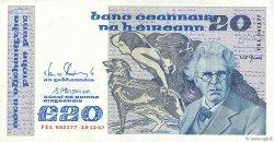 20 Pounds IRLANDE  1987 P.073c TTB+