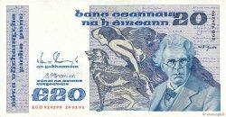 20 Pounds IRLANDE  1991 P.073c TTB+