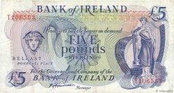 5 Pounds IRLANDE DU NORD  1980 P.066b pr.TTB