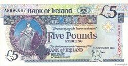 5 Pounds IRLANDE DU NORD  2000 P.074c NEUF