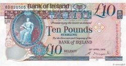10 Pounds IRLANDE DU NORD  2008 P.084 NEUF