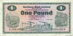 1 Pound IRLANDE DU NORD  1970 P.187a TTB