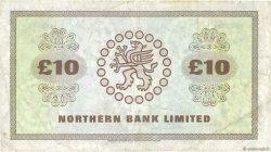 10 Pounds IRLANDE DU NORD  1985 P.189e TB+