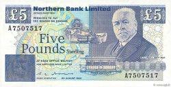5 Pounds IRLANDE DU NORD  1990 P.193b NEUF