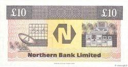 10 Pounds IRLANDE DU NORD  1988 P.194a NEUF