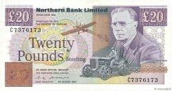 20 Pounds IRLANDE DU NORD  1990 P.195b SPL