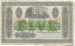 5 Pounds IRLANDE DU NORD  1940 P.316a TTB