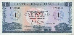 1 Pound IRLANDE DU NORD  1966 P.321a TTB+