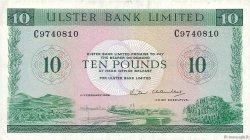 10 Pounds IRLANDE DU NORD  1988 P.327c TTB+