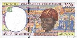 5000 Francs CONGO  2002 P.104Cg NEUF
