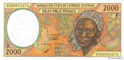 2000 Francs CAMEROUN  2002 P.203Eh NEUF
