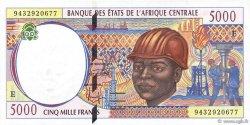 5000 Francs CAMEROUN  1994 P.204Ea NEUF