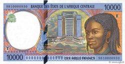 10000 Francs CAMEROUN  1998 P.205Ed pr.NEUF