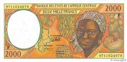 2000 Francs RÉPUBLIQUE CENTRAFRICAINE  1997 P.303Fd pr.NEUF