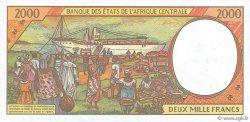 2000 Francs RÉPUBLIQUE CENTRAFRICAINE  2000 P.303Fg pr.NEUF