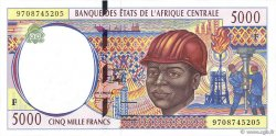 5000 Francs RÉPUBLIQUE CENTRAFRICAINE  1997 P.304Fc pr.NEUF