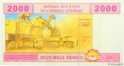 2000 Francs RÉPUBLIQUE CENTRAFRICAINE  2002 P.308M NEUF