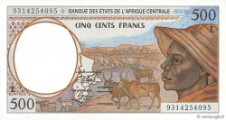 500 Francs GABON  1993 P.401La NEUF