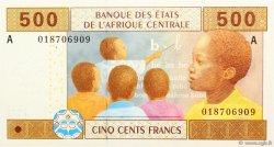 500 Francs GABON  2002 P.406A NEUF
