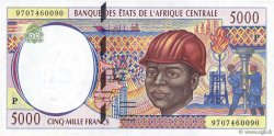 5000 Francs TCHAD  1997 P.604Pc SUP