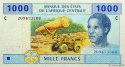 1000 Francs TCHAD  2002 P.607C NEUF