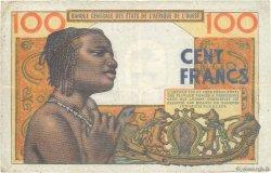 100 Francs AFRIQUE OCCIDENTALE FRANÇAISE (1895-1958)  1959 P.002a pr.TTB