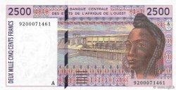 2500 Francs COTE D