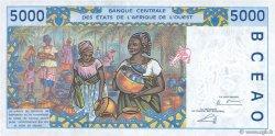 5000 Francs BÉNIN  2002 P.213Bl NEUF