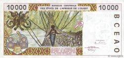 10000 Francs BÉNIN  1995 P.214Bc pr.SUP