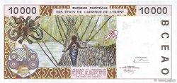 10000 Francs BÉNIN  1995 P.214Bc SPL