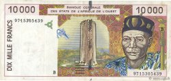 10000 Francs BÉNIN  1997 P.214Be TTB