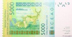 5000 Francs BÉNIN  2005 P.217Bc NEUF