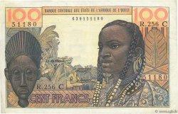 100 Francs BURKINA FASO  1965 P.301Cf TTB+