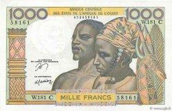 1000 Francs BURKINA FASO  1978 P.302Cn SPL