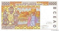 1000 Francs BURKINA FASO  1996 P.311Cg SUP+