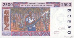 2500 Francs BURKINA FASO  1992 P.312Cc pr.NEUF