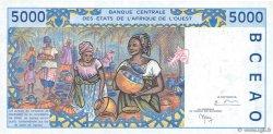5000 Francs BURKINA FASO  1998 P.313Cg pr.NEUF