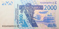 2000 Francs BURKINA FASO  2003 P.316Ca NEUF
