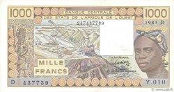 1000 Francs MALI  1985 P.406Df SUP+