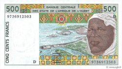 500 Francs MALI  1997 P.410Dg NEUF