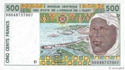 500 Francs MALI  1998 P.410Di NEUF