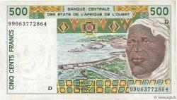 500 Francs MALI  1999 P.410Dj SUP