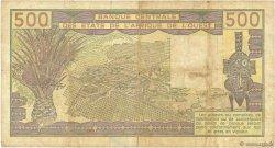 500 Francs NIGER  1981 P.606He TB+