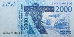 2000 Francs NIGER  2012 P.(619H) NEUF