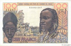 100 Francs SÉNÉGAL  1964 P.701Kd pr.NEUF