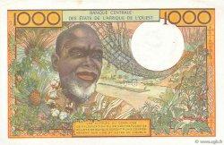 1000 Francs SÉNÉGAL  1978 P.703Kn pr.SUP