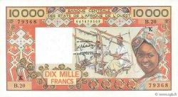 10000 Francs SÉNÉGAL  1983 P.709Kf SUP