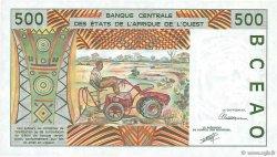 500 Francs SÉNÉGAL  1991 P.710Ka pr.NEUF