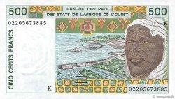 500 Francs SÉNÉGAL  2002 P.710Km SUP+